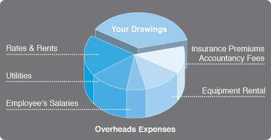 overheads-expenses-pie-chart